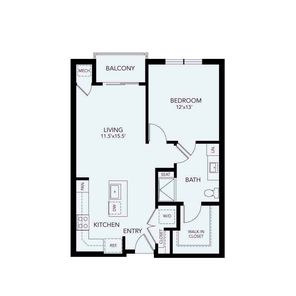 A1a floor plan avenida watermarq germantown