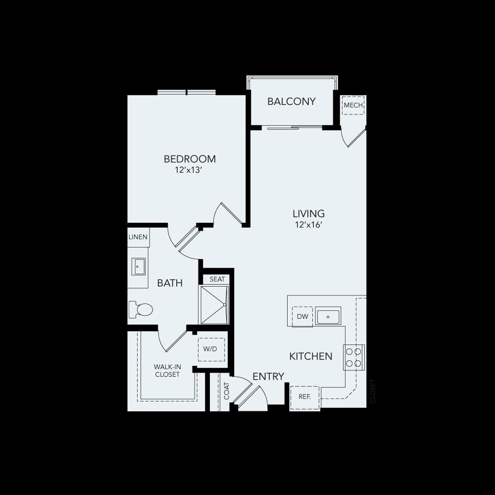 A1b floor plan avenida watermarq germantown