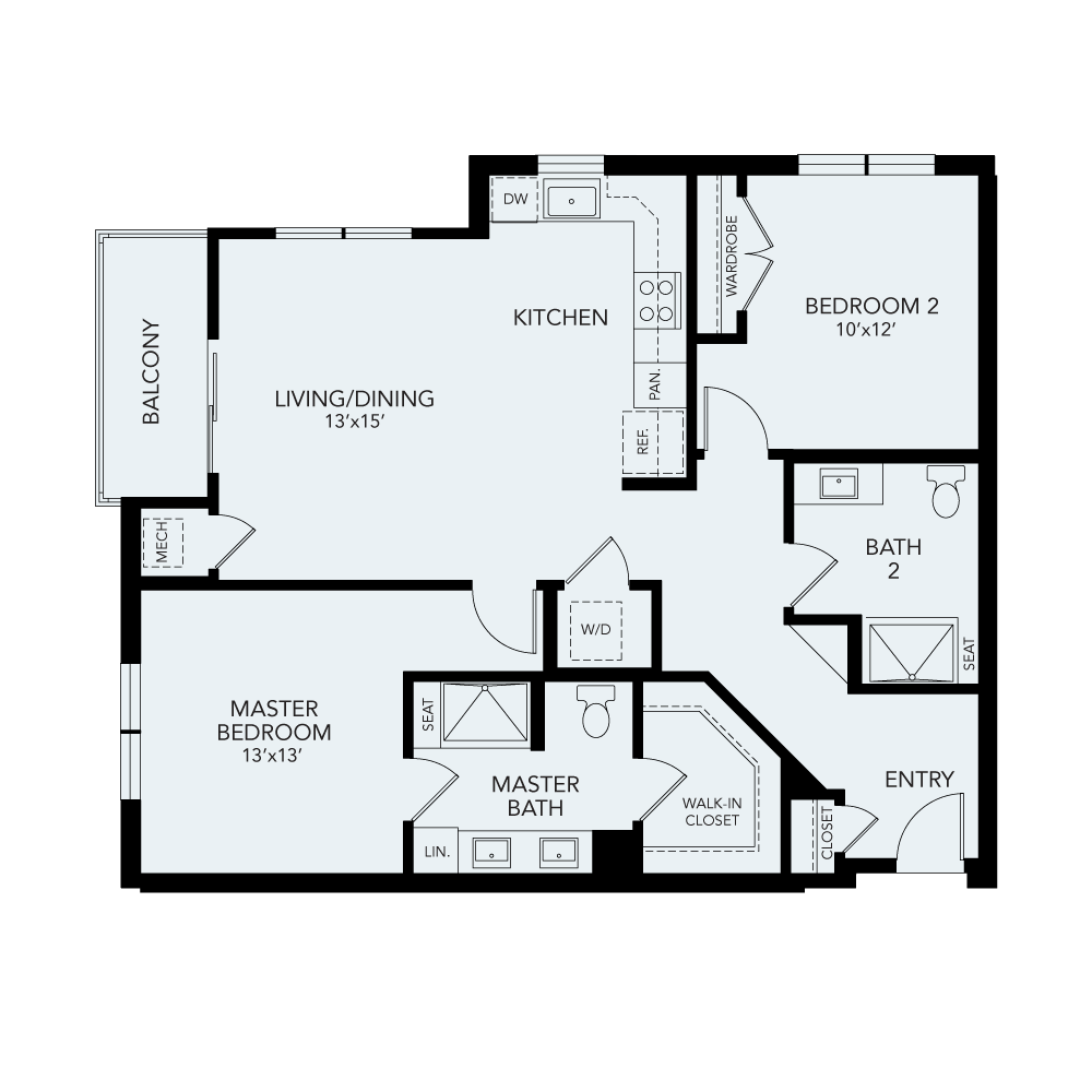 B3 floor plan avenida watermarq germantown