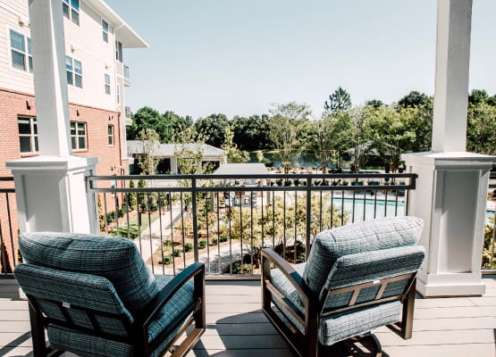 patio/balcony in residence at avenida watermarq germantown
